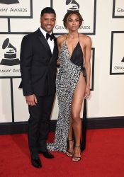 Having Ciara on his arm may have helped Russell Wilson make the cut this year in a tuxedo by Calvin Klein. (Photo: Jordan Strauss/Invision/AP)