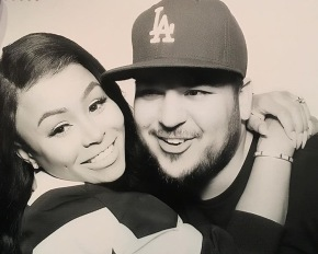 Rob Kardashian Hones In On His Parenting Skills